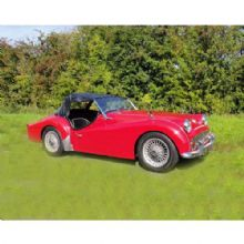Triumph  TR3a Post 60000 chassis no.
